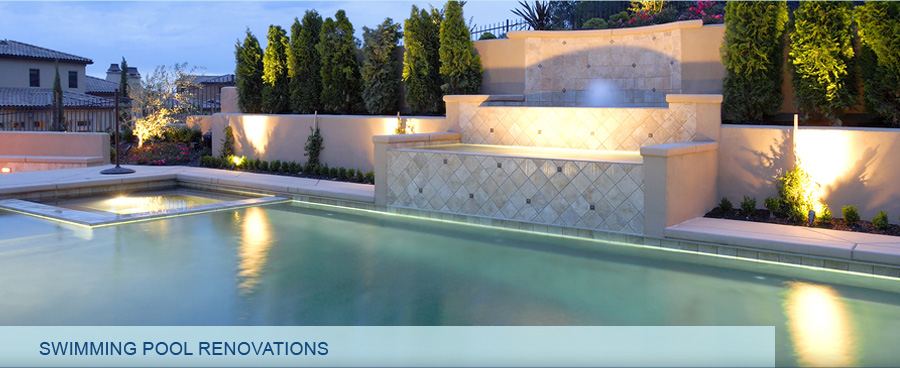 Swimming Pools With Water Features